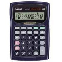 Casio Desktop Calculator 12-digit Blue WM-220T-SA-UH