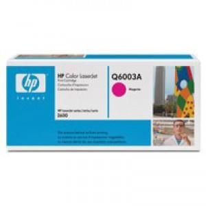 Hewlett Packard [HP] No. 124A Laser Toner Cartridge Page Life 2000pp Magenta Ref Q6003A