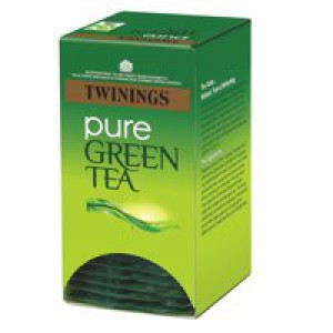 Twinings Pure Green Teabags Individually Wrapped Ref A06691 [Pack 20]