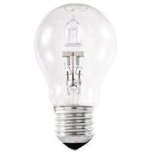Stearn Electric Light Bulb Energy-saving Halogen Screw Fitting 42W Clear Ref 42ESCLRGLS