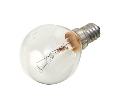 Stearn Electric E14 Light Bulb SES Golf Ball Screw Fitting 40W Clear Ref 40SESCLRGOLF