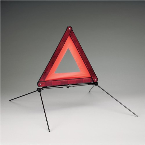 Wallace Cameron Vehicle Hazard Warning Triangle Foldaway Mandatory for European Travel Ref 5401014