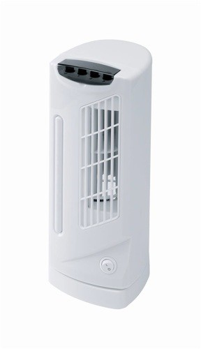 Connect-it Mini Tower Fan 3 Speed 90° Oscillation 40W H330mm Ref ES178