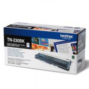 Brother Laser Toner Cartridge Page Life 2200pp Black Ref TN230BK