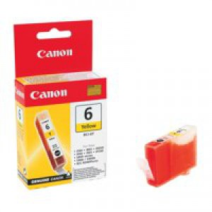 Canon BCI-6Y Yellow Inkjet Cartridge