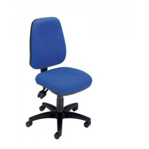 Trexus Intro High Back Permanent Contact Chair Seat W490xD450xH440-560mm Back H490mm Blue
