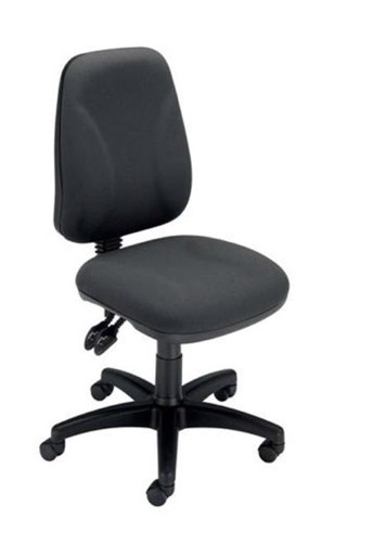 Trexus Intro Operators Chair Asynchronous High Back H490mm Seat W490xD450xH440-560mm Charcoal