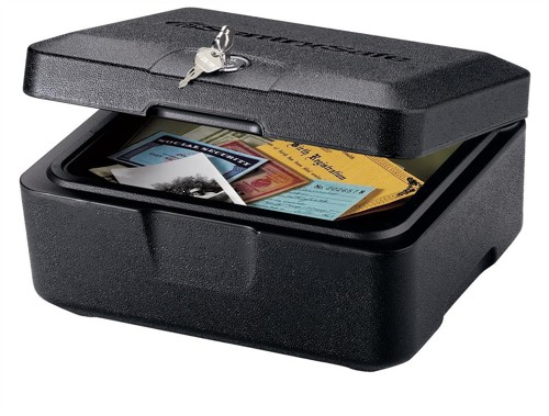 Sentry Fire-Safe Security Box 5.3kg W309xD260xH155mm 4.3L Ref 0500