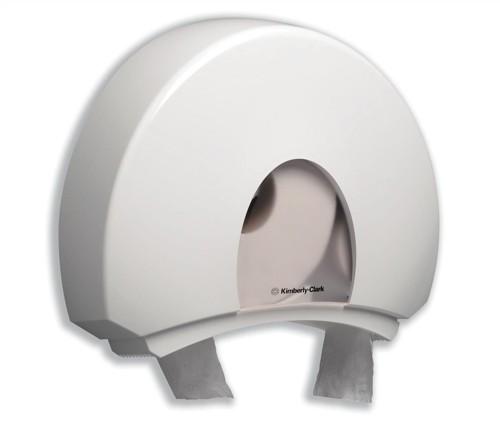Kimberly-Clark Aqua Jumbo Toilet Tissue Dispenser W146xD470xH399mm White Ref 6987