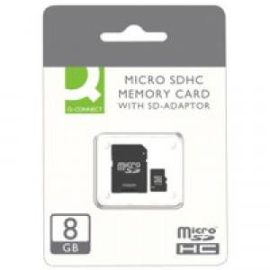 Q-Connect MicroSD Card 8GB Class 10