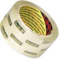 3M Scotch Premium Packaging Tape Buff 50mmx66m Code 3120BT