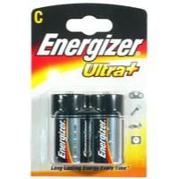 Energizer UltraPlus Battery Alkaline LR14 1.5V C Ref 633004 [Pack 2]