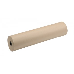 Recycled Kraft Paper Strong Thick for Packaging Roll 70gsm 800mmx240m Brown