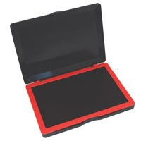 Dormy Micro Stamp Pad 127x88mm Red Ref 419804