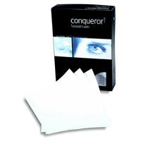 Conqueror Paper Smooth/Satin FSC4 A4 Wove Cream 100Gm2 Watermarked Pack 50