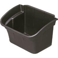 Rubbermaid Utility Bin for Utility Cart W432xD308xH267mm 15L Black Ref 3354-88-BLA
