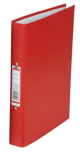 Concord Classic Ring Binder 2 O-Ring Capacity 25mm A4 Red Ref C82104 [Pack 10]