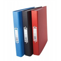 Image for Concord Classic Ring Binder 2 O-Ring Capacity 25mm A4 Assorted Ref C82150 [Pack 10]