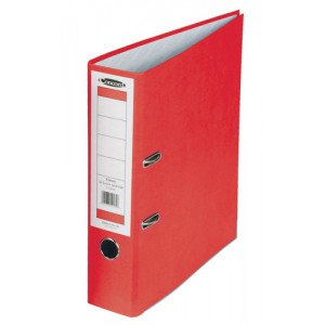 Concord Classic Lever Arch File Printed Lining Capacity 70mm A4 Red Ref C214041 [Pack 10]