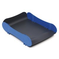 Avery Infinity Letter Tray Wave-design Back-tilted Base Blue and Grey Ref INF1BG