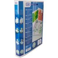 Elba Polyvision Maxi Presentation Binder Polypropylene 4 D-Ring 30mm Portrait Clear A3 Ref 100080802 [Pack 5]