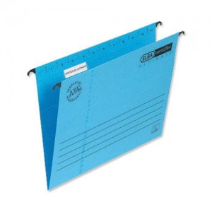 Elba Verticflex Ultimate Suspension File Manilla 240gsm Foolscap Blue Ref 100331168 [Pack 25]