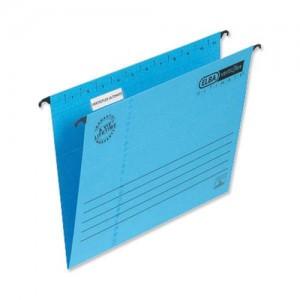 Elba Verticfile Ultimate Suspension File Manilla 240gsm Foolscap Blue Ref 100331168 [Pack 25]