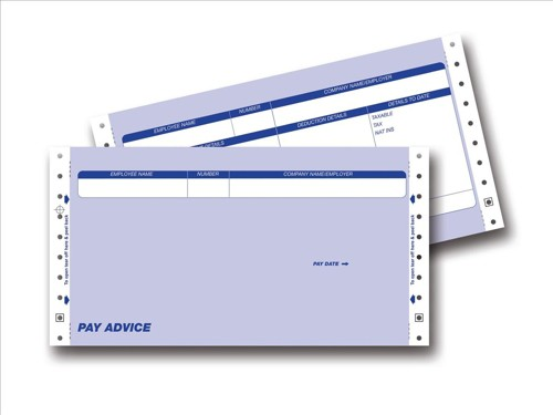 Communisis Pegasus Compatible Secure Pay Advice 3 Part W241xH127mm Ref DUKPE023 [Box 1000]