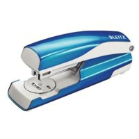 Leitz Office Stapler NeXXt Metal 30 Sheet Metallic Blue
