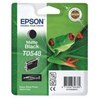 Epson T0548 Inkjet Cartridge Frog Page Life 400pp Matte Black Ref C13T05484010