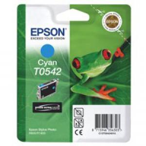 Epson T0542 Inkjet Cartridge Frog Page Life 400pp Cyan Ref C13T05424010