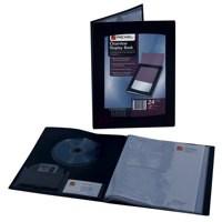 Rexel Cview Disp Bk 24 Pock Blk 10320Bk