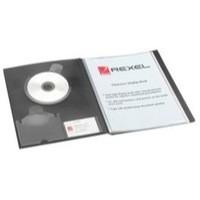 Rexel Cview Disp Bk 50 Pock Blk 10350Bk