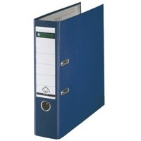 Leitz Mini Lever Arch File Plastic 52mm Spine A4 Blue Ref 10151035 [Pack 10]