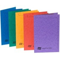 Europa Sq Cut Folders Fs Astd 4820 Pk50