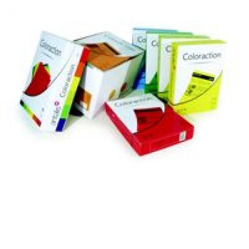 Coloraction Tinted Paper Deep Red (Chile) FSC4 A4 210X297mm 80Gm2 Pack 500