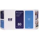 HP 80 Inkjet Cart Cyan C4872A