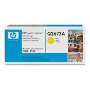 HP No.309A Laser Toner Cartridge Yellow Code Q2672A