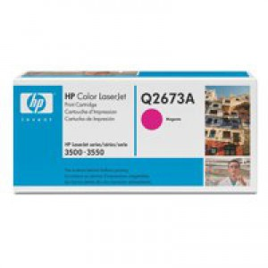 Hewlett Packard [HP] No. 309A Laser Toner Cartridge Page Life 4000pp Magenta Ref Q2673A