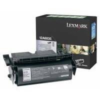 Lexmark Black H/Y 12A6835 Rtn Toner