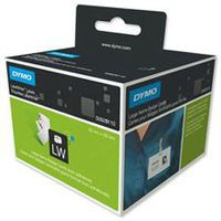 Dymo 4XL Labels Large Name Badge Label 51x107mm [for Labelwriter 4XL] Ref S0929110 [250 Labels]