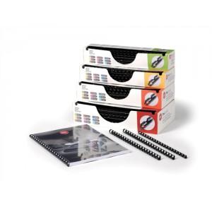GBC Procomb 8mm Binding Combs Black Pack 100 Code 4400321