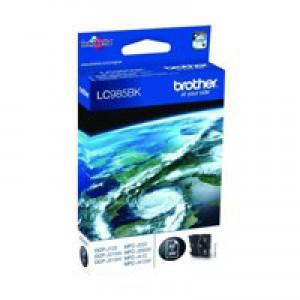 Brother DCP-J125/315W/515W MFC-J265W/J410/J615W Inkjet Cartridge Black Code LC985BK
