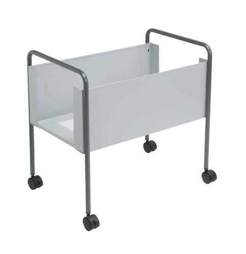 Suspension Filing Trolley for 100 Foolscap Suspension Files Steel