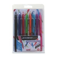 Uniball Jetstream Colours Ast Pk8