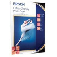 Epson Ultra Glossy Photo Paper A4 Pack of 15 C13S041927