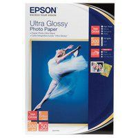 Epson Ultra Glossy Photo Paper 10x15cm Pack of 50 C13S041943