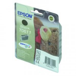 Epson Inkjet Cartridge Black C13T061140