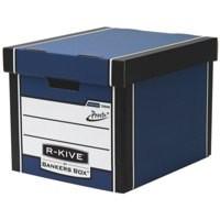 Bankers Box Prem 726 Tall StoBox Blu/Wht