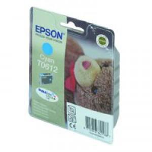 Epson Inkjet Cartridge Cyan C13T061240